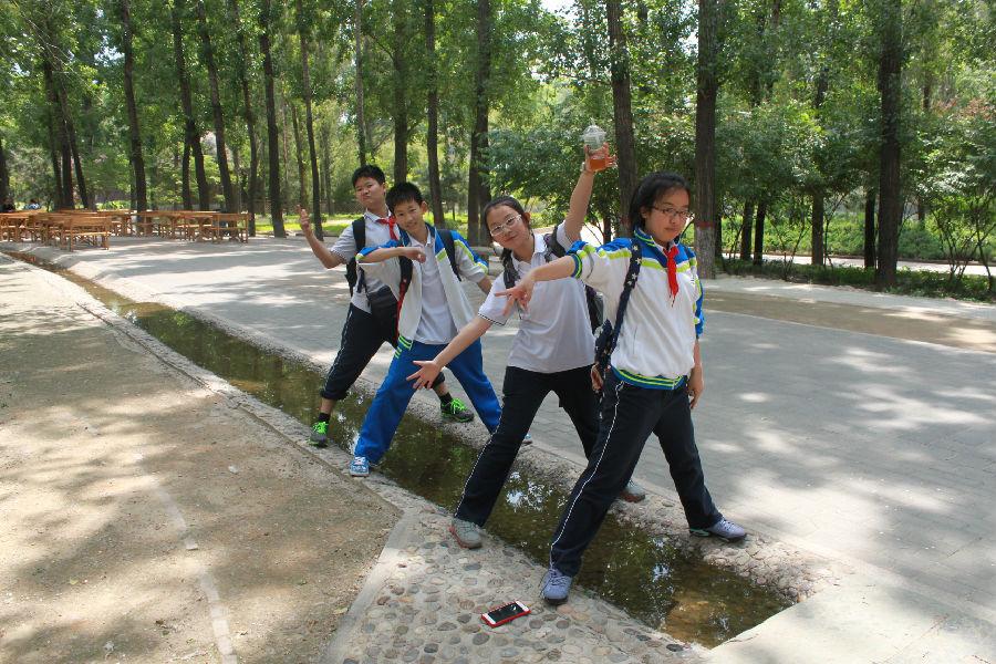 北京十八中初一年级开展春季社会实践活动 标题
